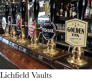 The Lichfield Vaults, Hereford